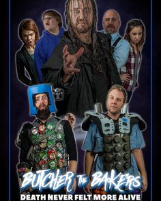 The first official poster for @butcherthebakers has been released! Next trailer is coming on #FridayThe13th #Villain