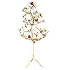 Italian  Tole Tree $2750.00