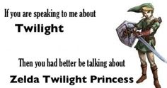 it's always twilight princess <333