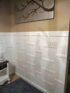 Contemporary Wainscoting - Addicted 2 Decorating®