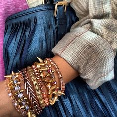 How to wear #charmedarms in the winter!