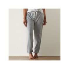 Plus Size SONOMA Goods for Life™ Back to Basics French Terry Jogger Pants, Women's, Size: 2XL, Grey
