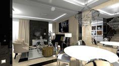 Interiér rodinného domu v štýle Art Deco | Living styles