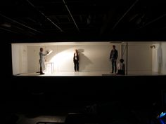 Scenography for Cleansed by Sarah Kane