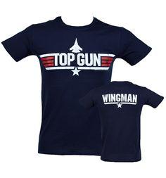 Top Gun Wingman Hombres camiseta