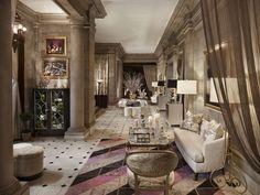 #Gacek Design Group - #interior designer - #2014 Mansion in May Blairsden mansion - #living space - gacekdesign.com