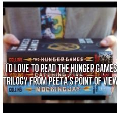 Suzanne Collins, u need to write it!