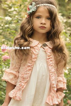 ALALOSHA: VOGUE ENFANTS: Persnickety Apple Blossom Collection SS'14