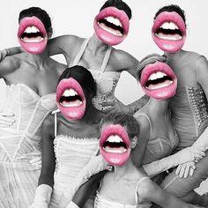 Hey Pretty uploaded by trisha ann may on We Heart It Photomontage, Photoshop, Mode Pop, Webdesign Inspiration, Art Graphique, Grafik Design, Digital Collage, Wall Collage, Art Inspo
