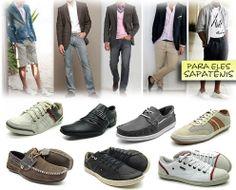 Dica de hoje: Sapato e Sapatênis