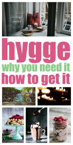 Hygge... It's Danish for 'oh-so-cosy'. No wonder they are the happiest people in the world! Find out why you need it how to get it.
