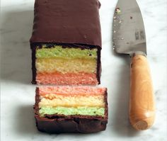 Now you can make soft, fragrant Italian rainbow cookies at home.