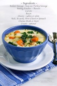 Recipe For  Rustic and Hearty Tuscan-style Soup