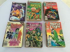 Fantastic Four, Alpha Flight Comic Book Lot (108 Books)