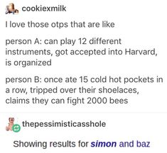 I think we all know who's who in this scenario<<< But Baz got accepted in London Scool of Economics, just so you know.