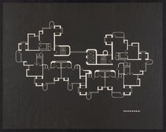 Crawford Manor, plan, Paul Rudolph