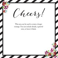 Cheers! designed by Kellie Medivitz on pingg.com
