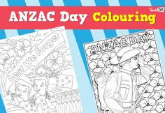 ANZAC Day - Colouring