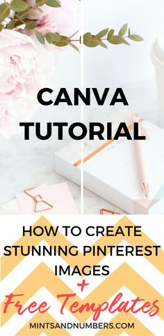 How to create stunning Pinterest graphics for free using Canva.  Step by step tutorial to create Pinterest images that are highly shareable.