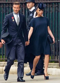 Victoria Beckham Just Re-Created Her 2011 Royal Wedding Outfit Royal Wedding Guests Outfits, Royal Wedding 2011, Wedding Suits, Wedding Couples, Wedding Rings, Inexpensive Wedding Invitations, Inexpensive Wedding Venues, Luxury Wedding Invitations, Wedding Programs