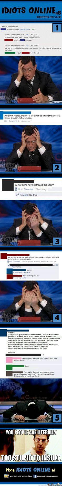 Idiots Online #8