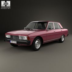 Peugeot 604 1975 3d model from humster3d.com. Price: $75