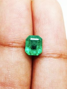 1.29 Ct Fine Natural Emerald Octagon for Earrings Ring Pendents  AU
