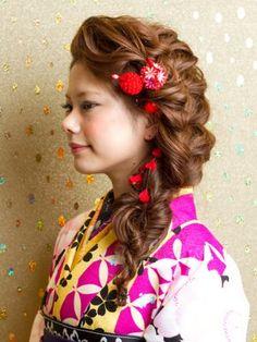 「卒業式どーする?振袖着付け、袴着付け☆★着物に合うヘアスタイルはコレ☆」のまとめ枚目の画像|MERY [メリー]
