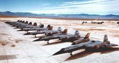 Vintage Military Hypersonic SR-71 Jets at Groom Lake
