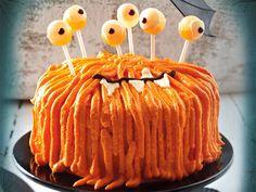 Halloween-Rezepte - schaurig-schöne Leckereien - zottel-monster-torte  Rezept