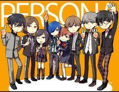 PERSONA 20TH ANNIVERSARY by Sandy-kun.deviantart.com on @DeviantArt