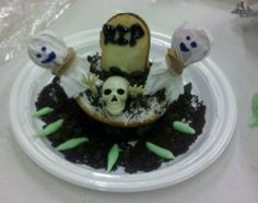 from our graveyard cupcakes and scary stories program