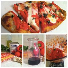 This is a great sounding pizza sauce, and great way to freeze extra for future use!