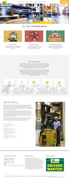 Haag Food Services, Inc. #techknowsolutions