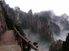 La montaña amarilla (Huangshan)