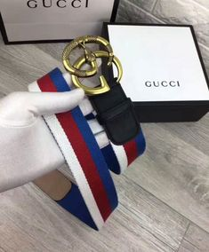 d98c7417938 Replica Gucci Sylvie Web belt with double G buckle with snake Black  3353 4  Gucci