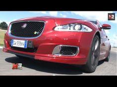 JAGUAR XJR 2014 - TEST DRIVE SUPERCHARGED ON TRACK