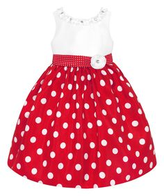 Another great find on Hot Pink & White Polka Dot Dress & Bloomers - Infant by American Princess Toddler Girl Style, Toddler Girl Dresses, Little Girl Dresses, Girls Dresses, Toddler Girls, Fashion Kids, Little Girl Fashion, White Polka Dot Dress, Polka Dots