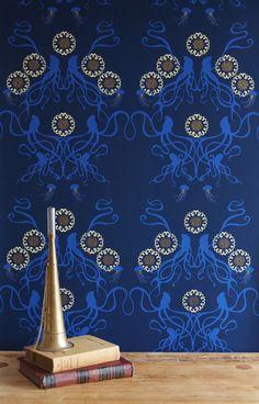 Captain Smith #wallpaper #coveredwallpaper #modernwallpaper #paperyourwalls #design #homedecor #home #decor #modern