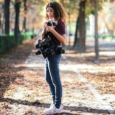 """#InstaShootMadrid  @marioandrei """"She was that kind of fire that everyone likes to see but nobody wants to hold in their hands. So she held herself and rose on her own """"  #photographer #me #cameras #liveyourdream #lightroom #lightlover #bokeh #girl #park #Retiro #portait #explore #liveextraordinary #liveexplore #curls #curlyhair #style #gameoftones #shootingthephotographer #squadgoals #squad"""