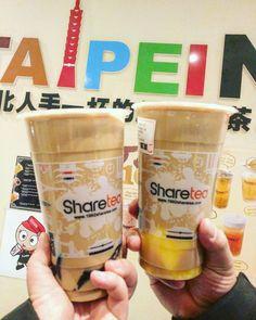 #Repost @ jetsetnom Even in Ottawa I need Milk Tea. Found this Taiwanese Milk Tea spot and decided to try it since they had some interesting flavors. We got: Hokkaido with pudding and Okinawa with herbal jelly  __________________ #jetsetnomeats #localeats #localfood #eatlikealocal #milktealover #milktea #ilovemilktea #bubbletea #boba #珍珠奶茶 #波霸奶茶 #sharetea #shareteaottawa