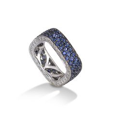 Sapphire and Diamond band from the De Boulle Collection.