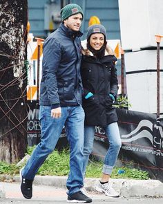 c01e2f0c594eb Ashton Kutcher and Mila Kunis spotted in their Love Your Melon beanies! Love  Your Melon