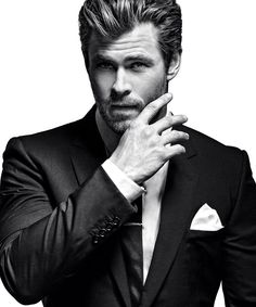 Chris Hemsworth - except for in the new ghostbusters where I really hate him.