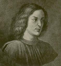 Giovanni de' Medici (1467-1498), son of Pierfrancesco de' Medici (1430-1476) and Laudomia Acciaioli. Married to Caterina Sforza (1463-1509), father to Giovanni dalle Bande Nere (1498-1526) and grandfather to Cosimo I, Grand Duke of Tuscany (1519-1574).