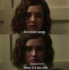 Geç olduğunda herkes umursar.