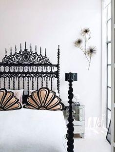 decorating with ornate headboards / sfgirlbybay