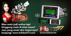 Blog Infobet77.com menyediakan segala jenis perjudian online yang saat ini sedang marak di kalangan masyarakat Indonesia. Silahkan kunjungi situs kami untuk tips bermain dan review seputar situs judi tahun 2017