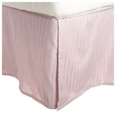 Egyptian Cotton 300 Thread Count Striped Bedskirt