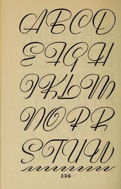 Studio handbook : lettering : over 250 pages, l... Calligraphy Letters Alphabet, Hand Lettering Alphabet, Graffiti Alphabet, Alphabet Fonts, Business Notes, Signwriting, Wood Burning Art, Cool Fonts, Alphabet